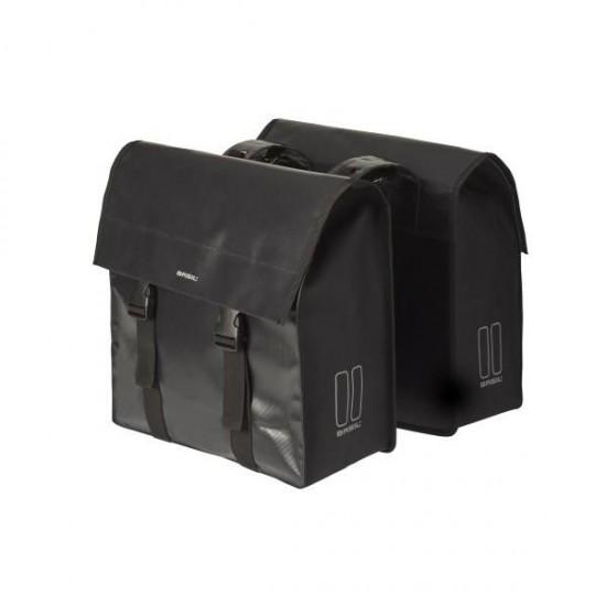 Basil Urban Load - cob dublu - 48-53 l - negru