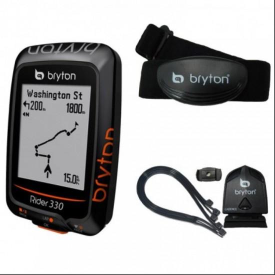 GPS Bryton Rider 330T set