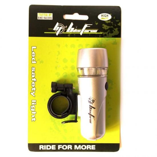 Lumina fata Bikeforce Blade Silver - 5 leduri