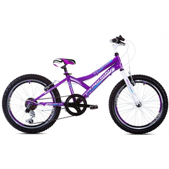 Bicicleta copii Capriolo 24 inch turquise