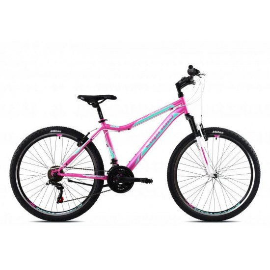 Bicicleta Capriolo Diavolo DX 26 inch roz-verde