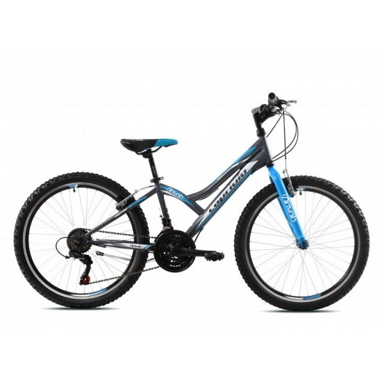 Bicicleta Capriolo Diavolo 24 inch gri-albastru