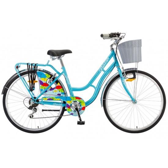 Bicicleta Polar Grazia 26 inch albastra
