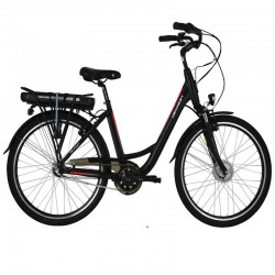 Devron City E-Bike 26120 - negru-roșu