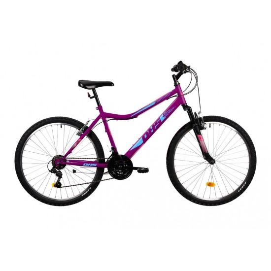 Bicicleta DHS Terrana 2604 violet - 26 inch