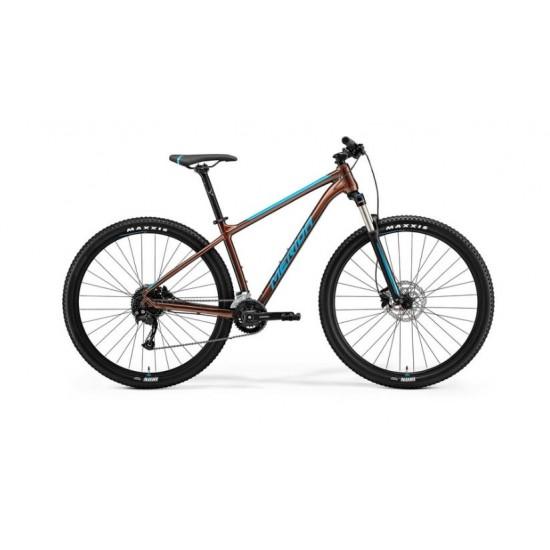 Bicicleta Merida Big Nine 100-2X bronze-albastru