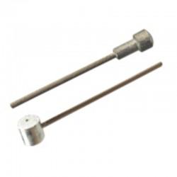 Cablu frana tandem Fibrax 3m otel inox