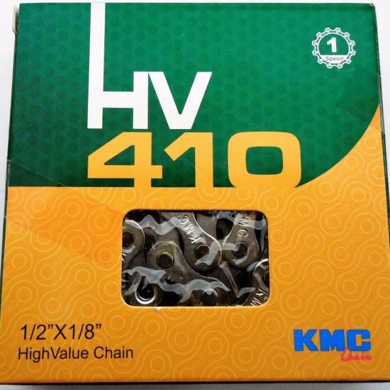 Lant KMC HV410 1/2x1/8 1 viteza 112 zale